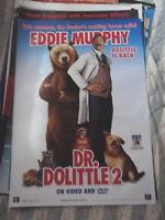 DR DOOLITTLE 2 1 SHEET DVD AUST VERSION MOVIE POSTER
