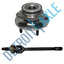 New Right Dodge Ram 1500 1994-1999 U JOINT Axle + Wheel Hub Bearing Assembly 4X4