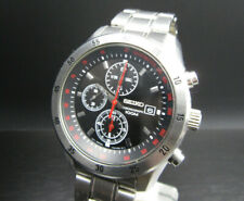 "K188 ⭐⭐Luxury "" Seiko "" Chronograph Wrist Watch Box ⭐⭐ 7T92 - 0LV0"