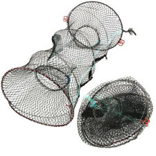 NGT Folding Crab Prawn Shrimp Crayfish Lobster Sea Fishing Net Trap Cage 80x40cm