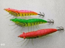 6pcs fishing lure ,squid jigs.3.0# .11.5cm ,20g, soft luminous claws,squid hook