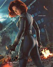 """Scarlett Johansson Avengers: Infinity War Black Widow 11x14"""" Poster Reprint RP"""