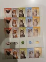 Australia 2015 Domestic Animals - Cats Gutter With 20 Stamps MNH