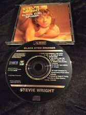 STEVIE WRIGHT BLACK EYED BRUISER CD AUSSIE PROMO SAMPLE BLACK ALBERT 475607 2