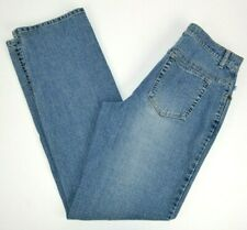 Duck Head Women's Relaxed Straight Leg Stretch Blue Jeans 6 TALL