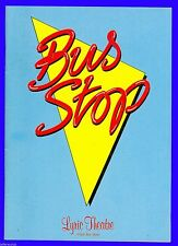 Playbill + Bus Stop + Jerry Hall , Shaun Cassidy , David Healy , Carolyn Jones