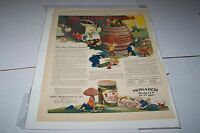 VINTAGE MAGAZINE AD #1171 - 1927 MONARCH FOODS - TEENIE WEENIES