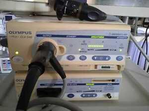 Olympus Visera OTV-S7/CLV-S40 Video System w/ OTV-S7 Camera Head and Scopes