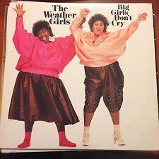 The Weather Girls-Big Girls Don't Cry-LP-Columbia-BFC 39980-Near Mint-Vinyl