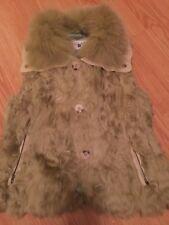 Woman Bergama Fine Fur Vest Size XS