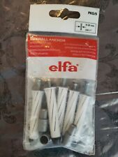 ELFA® 5pcs  DryWall Heavy Duty Anchors Shelving Tv Mount Utility Hooks 75lb Each
