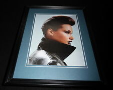 Alicia Keys 2012 Framed 11x14 Photo Display