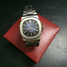 Mens Luxury Sports Automatic Mechanical Steel Bagelsport Analog Blue Dail Watch