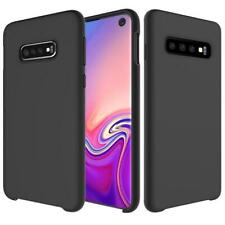 AMZER Silicone Soft Skin Jelly Case for Samsung Galaxy S10 - Black