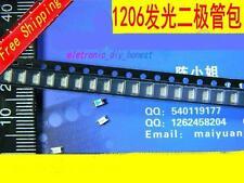50pcs 5colors 10pcs/values 1206 SMD LED lights  Assortment kit#ST207