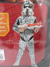 Halloween Dress-up Costume Outfit Star Wars Large 12-14 (8-10 YR) ARF Trooper