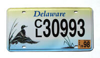 Delaware ENVIRONMENTAL DUCK License Plate WILDLIFE #30993