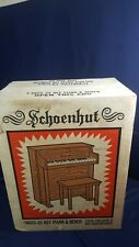 Vintage Schoenhut Upright Wood Toy Spinet Piano 25 Key 6025 Bench Song Book NIB!