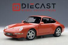 AUTOART 78132 PORSCHE 993 CARRERA 1995, RED 1:18TH SCALE