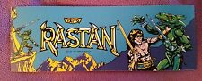 Rastan Marquee sticker. 3.25 x 9. (Buy any 3 of my stickers, Get One Free!)