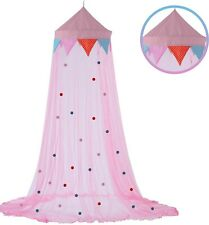 Adorable Pink Princess Bed Canopy for Girls, Baby