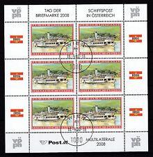 Österreich 2008 gestempelt Kleinbogen  MiNr. 2767  Tag der Briefmarke.