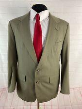 Haspel Solid Gray Suit 42R 34X29