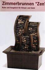 Zimmerbrunnen Zen Version Wasserfall komplett mit Pumpe und Kabel ,NEU,OVP