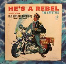 The Crystals LP He's A Rebel ORIGINAL (1963) Philles Records PHLP-4001 Mono RARE