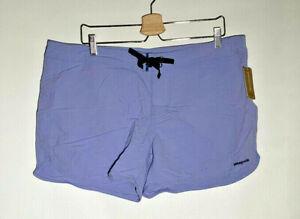 Patagonia Women's Wavefarer Boardshorts - Lilac Blue - NWT | Size 16