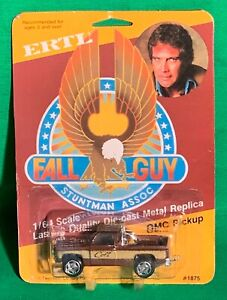 * The Fall Guy - ORIGINAL 1982 - 1/64 Scale Die-cast GMC Pick-up Truck by ERTL *