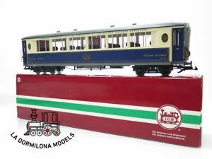 "DV375 ESCALA G - LGB 31653 Salonwagen ""Orient Express"" Nº31653 - OVP"