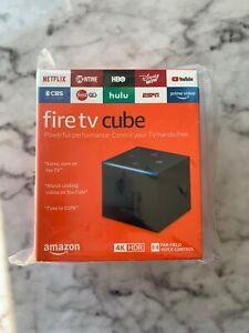 Amazon Fire TV Cube 4K 2nd Gen Streaming Media Player 16GB NEW LATEST GEN