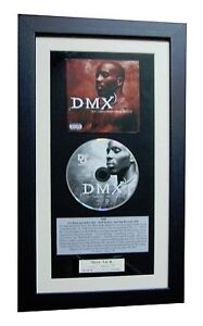 DMX Dark Hell Is Hot CLASSIC CD Album GALLERY QUALITY FRAMED+EXPRESS GLOBAL SHIP