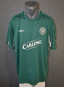 FC Celtic Jersey 2004/2005 Away Football Vintage Shirt Mens Umbro Retro Size XXL