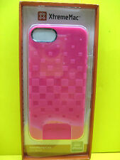 XTREME MAC FORM-FITTING CASE FOR APPLE IPHONE 5 PINK COLOR