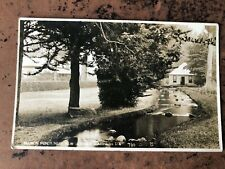 More details for early 1900s photo card . salmon ponds near newnorfolk southern . w.fellows