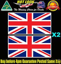 UK England Flag Decals Suit Fishing Boat Kayak Tackle Box Beer Fridge Mancave