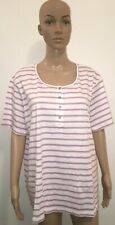 Summer Loose Tops,Blouse, Short Sleeve T-Shirts for Girls/Ladies/Womens -SizeXXL