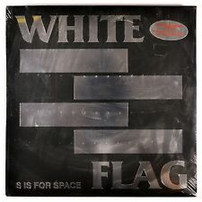 WHITE FLAG S Is For Space 2xLP NEW COLOR VINYL + POSTER LIMITED NUMBERED