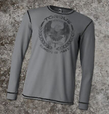 Torque Moment of Force Thermal Shirt (Gray) - S - mma bjj ufc