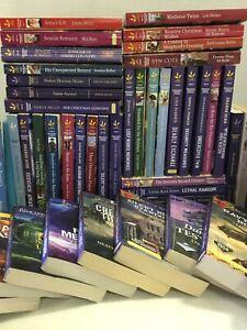 Lot of 10 Love Inspired Christian Suspense Romance Popular PB Books MIX UNSORTED