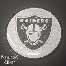 Raiders Dayton Zenith Wire Wheel Chips Emblems Decals Set Of 4 Size 275in