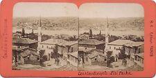 Constantinople Turquie Stereo Vintage albumine ca 1865