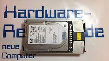 "HP frame 72,8 GB 10k ULTRA 320 SCSI 320mb/s 404670-003 404709-001 3,5"" HDD"