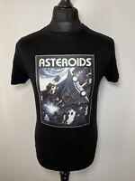 Atari Asteroids Primark Black T-Shirt Tee Retro Gaming Games M Medium NEW