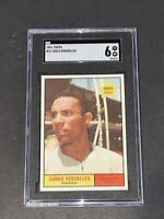 1961 Topps #21 Zorro Versalles SGC 6 Newly Graded & Labelled