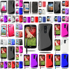 Case Covers TPU Shell Silicone Gel S-LINE Serie LG Optimus LG G + Stylus