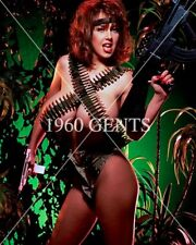 1990s NUDE 8X10 BIG BREASTS TITS LETHA WEAPONS PINUP PHOTO FROM ORIGINAL NEG-5