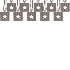 allen + roth 10 Light Star Cutout String Light Indoor and Outdoor Galvanized